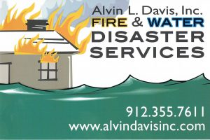 Water Fire Damage Cleanup Contractor Savannah Repair